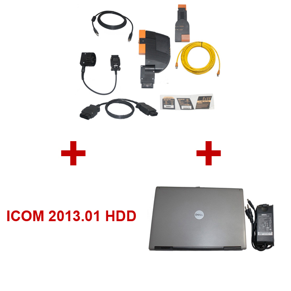 Best Quality BMW ICOM With 2013.01 Version BMW ICOM HDD Plus DELL D630 Laptop