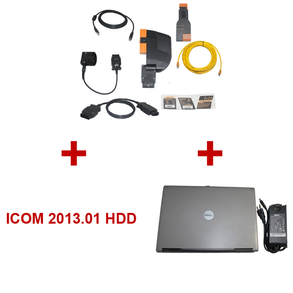 Best Quality BMW ICOM With Latest Software 2013.01 Version HDD Plus DELL D630 Laptop