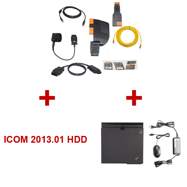 Best Quality BMW ICOM With Latest Software 2013.01 Version Plus ThinkPad X61 Laptop