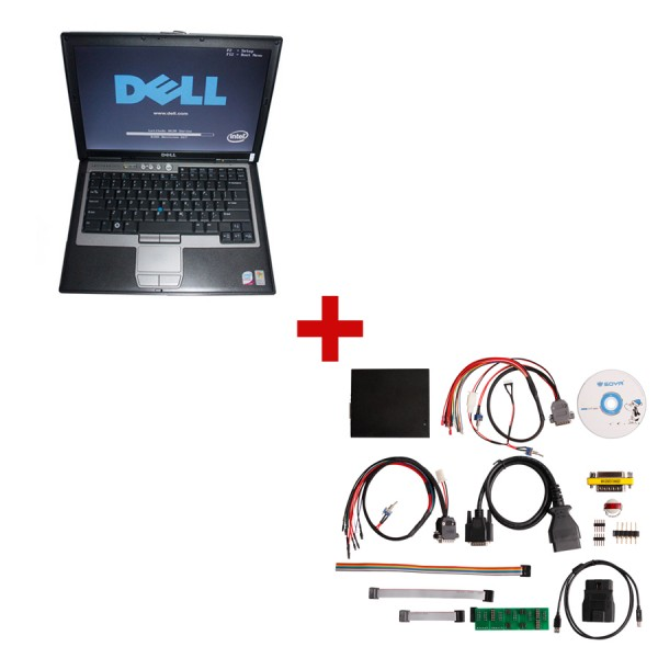 FGTECH Galletto V53 Plus DELL D630 1GB Laptop with 80GB Hard disk