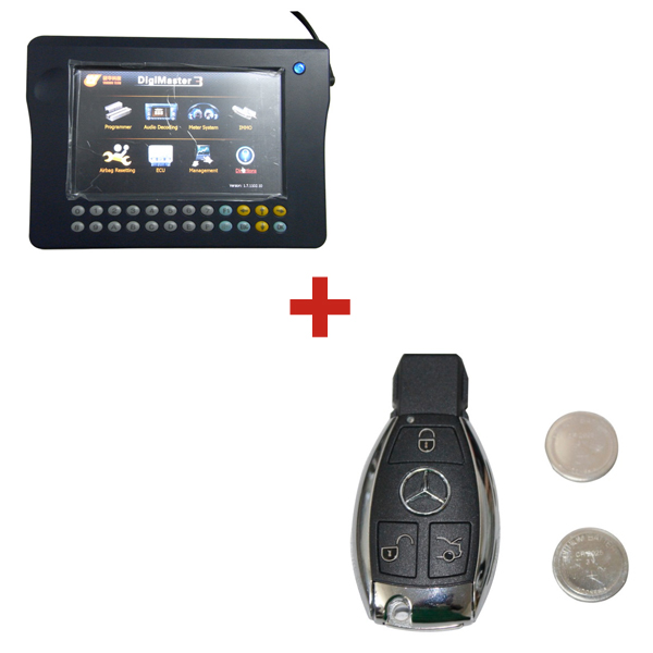 Promotion Original Digimaster 3 Odometer Correction Master Plus YH BZ Key for Mercedes-Benz