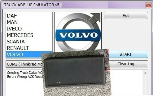 Adblue Emulation Module Truck Adblue Remove Tool for Benz
