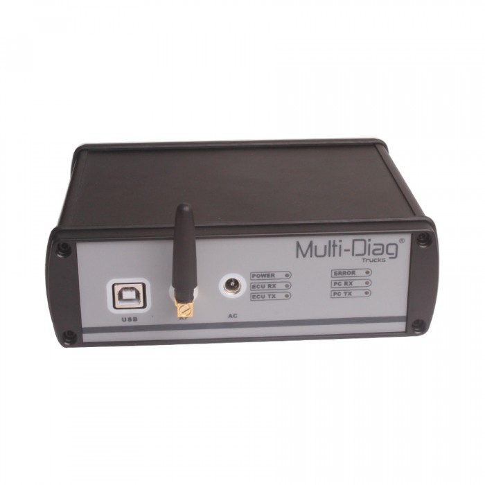 WAS Multi-Di@g Truck Diagnostic Tool Bluetooth Multi-Language Heavy Duty