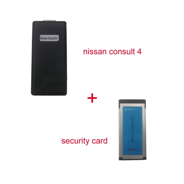 NISSAN Consult 4 Plus Security Card for Immobiliser  