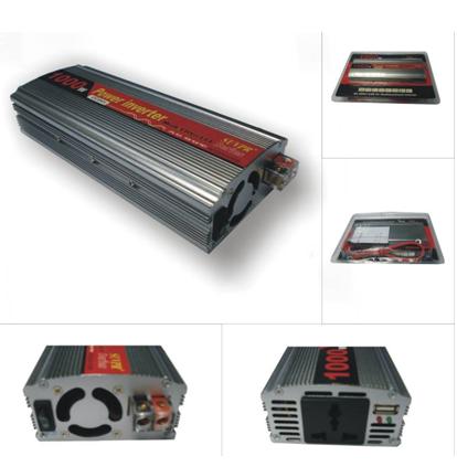 1000W USB Car Inverter DC 24V to AC 220V