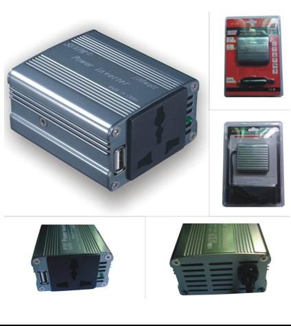 100W Automotive USB Inverter DC12V to AC 220V
