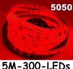 new-5m-car-red-5050-smd-led-waterproof-flexible-strip-12v-300-leds-1
